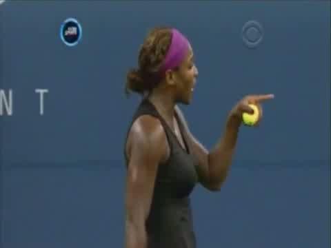 Serena Goes Tribal @ US Open