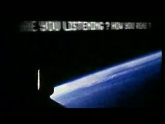We still have the alien spacecraft under observance