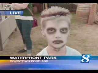 Zombie kid like Tuh tles