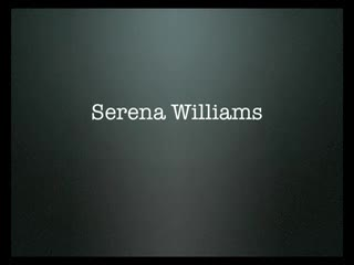 Serena Williams hot shots