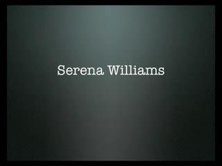 Serena Williams hot shots