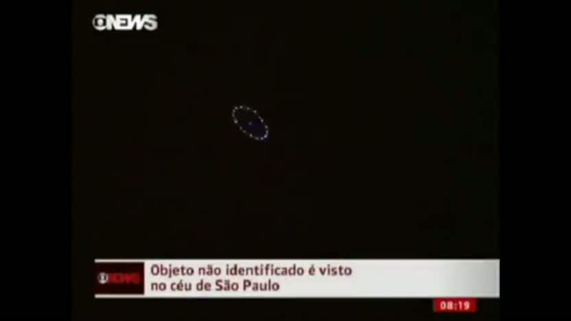 Amazing UFO Anomaly over Brazil