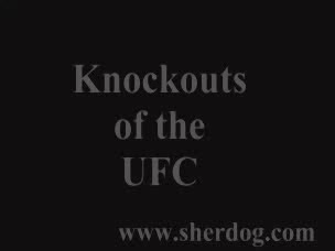 UFC knock outs