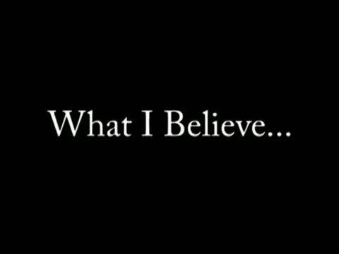 What I Believe - Spiritual Living