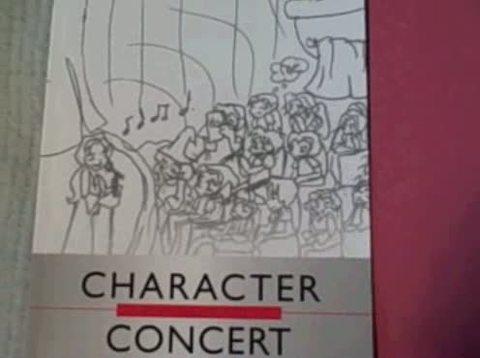 Character Concert Video